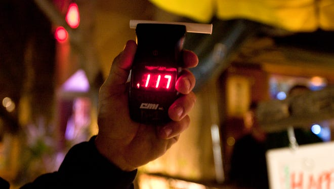 Arizona police made fewer impaired driving arrests in 2014 for the third consecutive year.