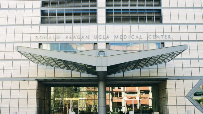 Ronald Reagan UCLA Medical Center in Los Angeles, one of four hospitals and 150 offices in the UCLA Health network. A cyber attack may have put the information of 4.5 patients at risk, the network said July 17, 2015