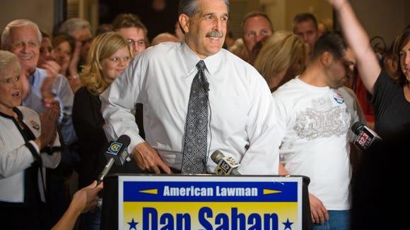 Sheriff candidate Dan Saban in 2008.