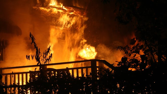 An early morning fire Monday left a Delafield Street home uninhabitable.