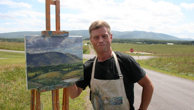 Artist M. Stephen Doherty paints the landscape of the Shenandoah Valley. Doherty is a plein air painter, author, editor and juror. He and his wife, Sara, live in Waynesboro.