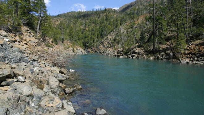 North Fork of the Smith River.