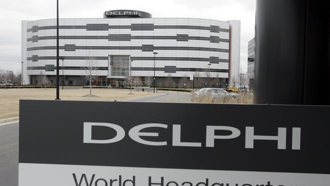 Delphi's World Headquarters in Troy.