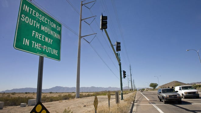 The Loop 202 extension is the subject of two lawsuits.
