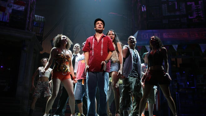 Lin-Manuel Miranda leads the Broadway production of 'In the Heights.'