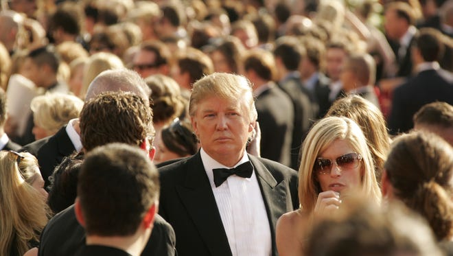 Donald Trump at the Emmy Awards in 2005.