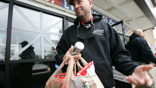 A customer leaving a 7-Eleven in Point Pleasant. While there are strong regional convenience stores chains, such as Texas-based Buc-ee's and the East Coast's Wawa and Sheetz chains, on a national level, it's a landscape that 7-Eleven has owned long since it invented the Slurpee in the 1960s.