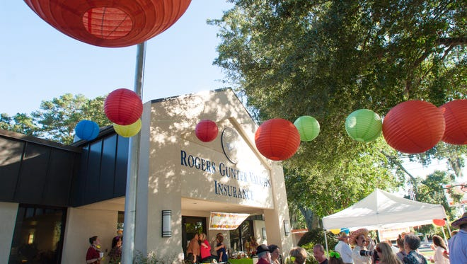 Rogers, Gunter, Vaughn Insurance, Inc. celebrates being named a Best Companies to Work for by the Florida trend with a family friendly fiesta complete with tacos and a piñata