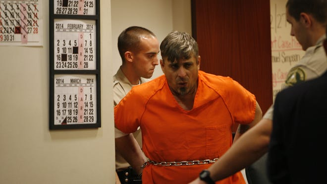 This Desert Sun file photo shows Michael Franco, who was convicted of murder. A jury convicted him in April in the death of Palm Desert High School teacher Jill Thomas Grant.