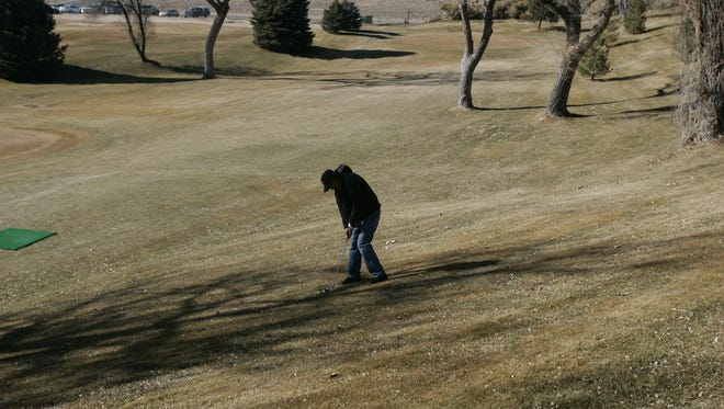 Regular golf is a draw at the Civitan Golf Course, pictured here in a file photo. A miniature course may be constructed nearby.