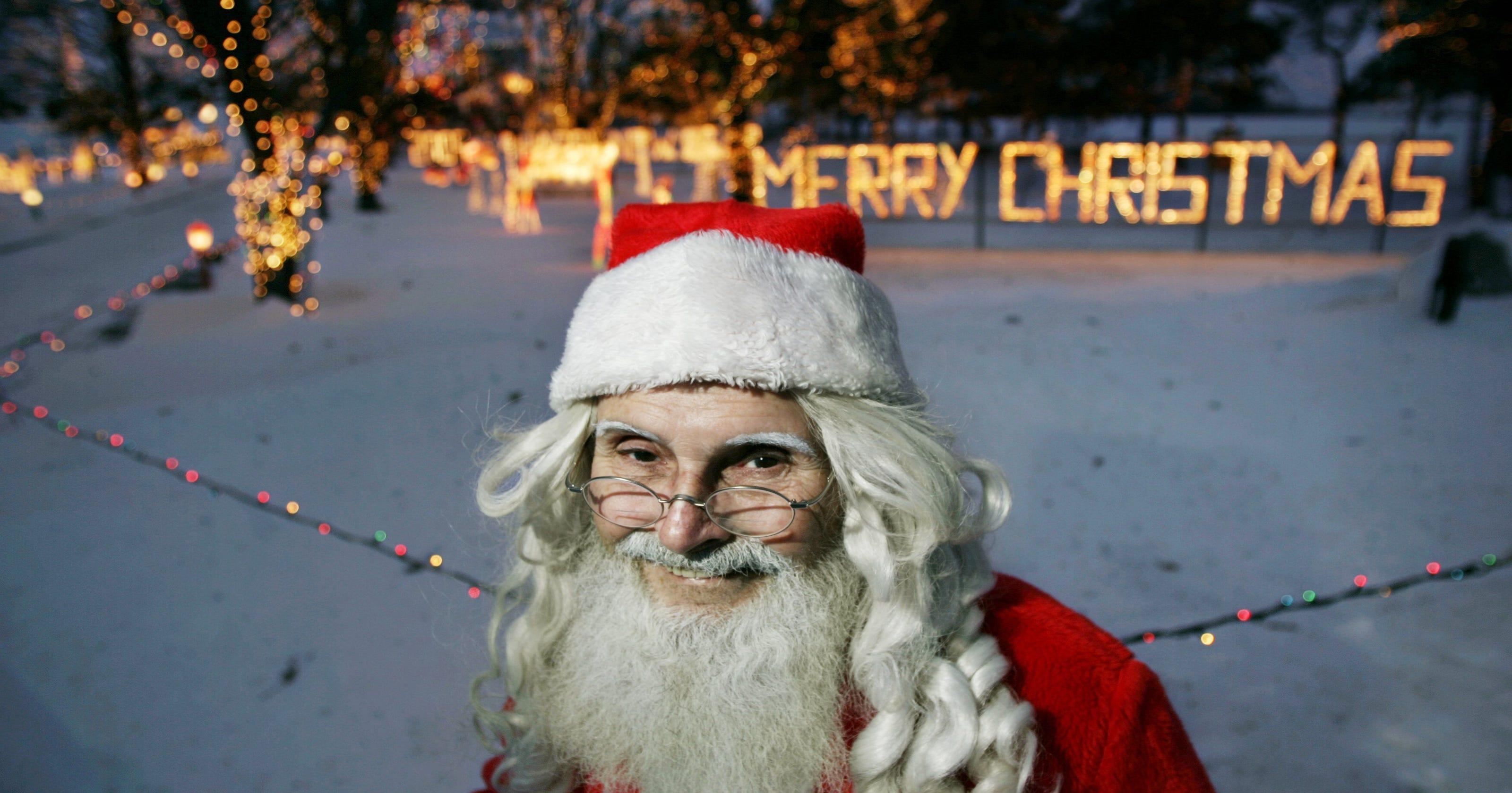 Christmas light displays start after