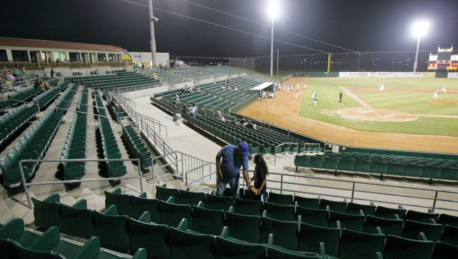 Fairgrounds Field will play host to baseball games on a regular basis this season as Agua Dulce and London high school baseball teams will play their.