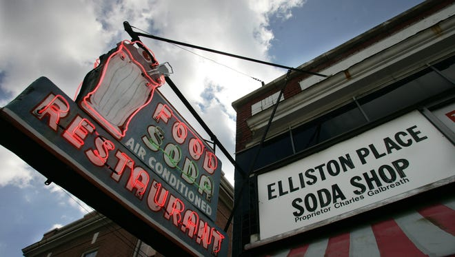 Elliston Place Soda Shop; (George Walker IV / The Tennessean)