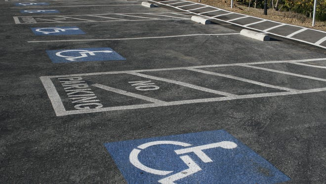 The accessible spaces are needed for individuals with physical  conditions who need closest parking to get to stores, restaurants, medical facilities.