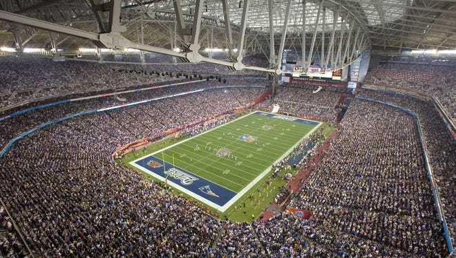 The New Giants defeated the New England Patriots 17-14 in Super Bowl XLII in Glendale in 2008.