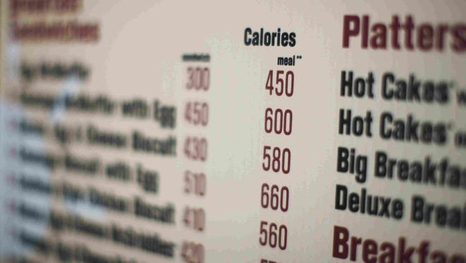 """On Tuesday, Nov. 25 the U.S. Food and Drug Administration finalized rules that require food establishments with 20 or more locations to post calorie information """"clearly and conspicuously."""""""