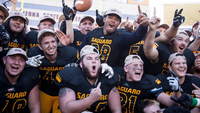 The football season is over, as five champions were crowned over the weekend. It is time to roll out azcentral sports' final Super 10, the top teams regardless of division.