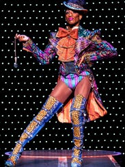 The costumes and footwear of 'Kinky Boots' were designed