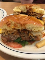 IHOP's new Cowboy Barbecue burger has lettuce, tomato,