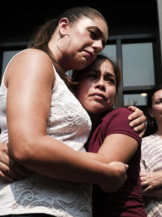 Guatemalan Immigrant Is Reunited With Her Children At Shelter In New York