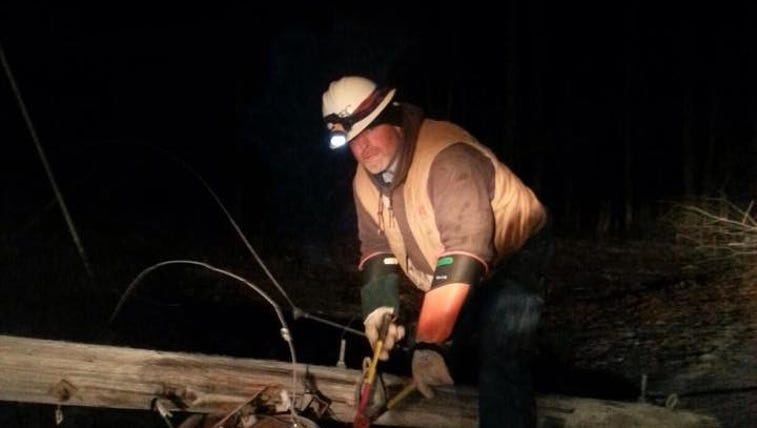 Volunteer Electric Cooperative continues to restore