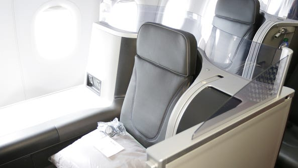 JetBlue's premium Mint cabin offers the only lie-flat-seat