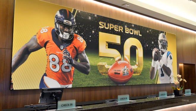 Super Bowl is Feb. 7, 2016.