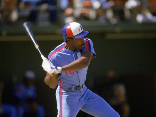 Speaking of powder blue ... 1986 Montreal Expos ...