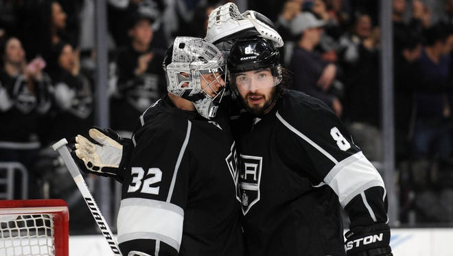 Los Angeles Kings goalie Jonathan Quick and defenseman Drew Doughty will be pivotal to the team's chances of another Stanley Cup.
