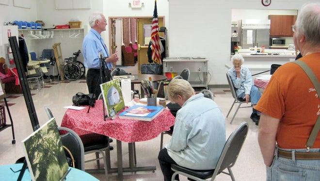 Showcase day offers seniors a chance to have fun with other seniors, while learning more about the Yorktown Senior Center.