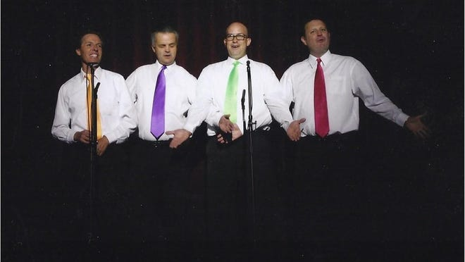 """""""Uncalled Four"""", on Wednesday at 7 p.m. They provide great four part men's harmony."""