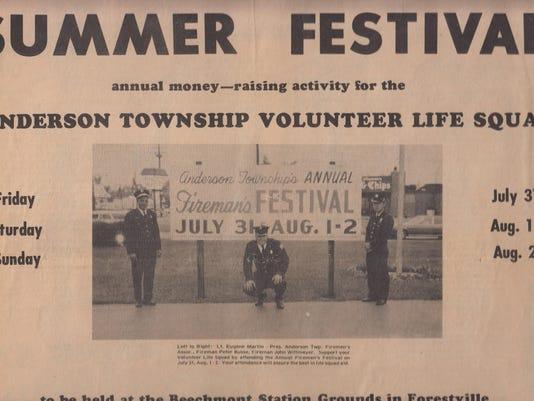 1970-07-29 FHJ Festival Promo - LT Eugene Martin (Pres.) FF Peter Busse, FF