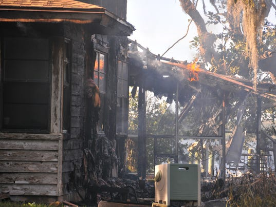 Merritt Island fire