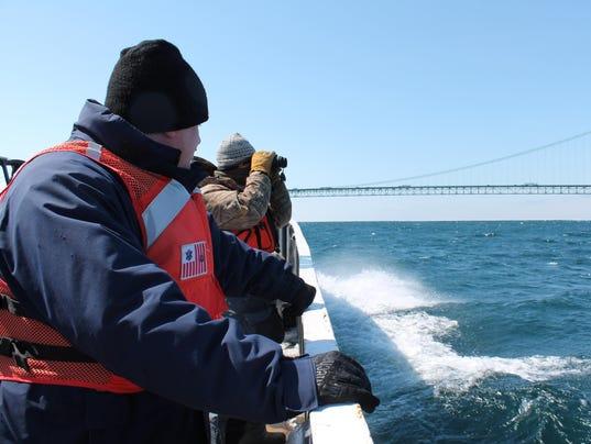 Straits of Mackinac oil spill response