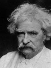 Author Samuel Longhorne Clemens, better known under