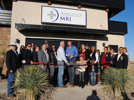 Members of the San Angelo Chamber of Commerce and the Concho Cadre held a ribbon-cutting for Angelo MRI, 4114 S. Jackson St., Jan. 12. Angelo MRI, owned by Clint Reichenau and Brett Schniers, is a locally operated and independent magnetic resonance imaging facility. San Angelo City Councilman Harry Thomas also attended the ribbon-cutting.