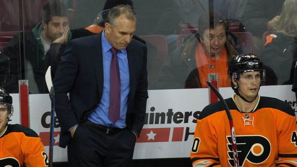 Flyers coach Craig Berube's future is in question with the team not making the playoffs for the second time in three seasons.