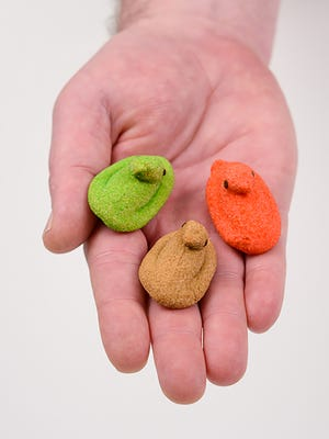 Peeps Minis will roll out in May and be sold year-round in reclosable bags.