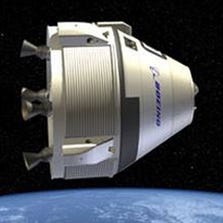 Boeing and SpaceX's proposed capsules to transport astronauts to the International Space Station.