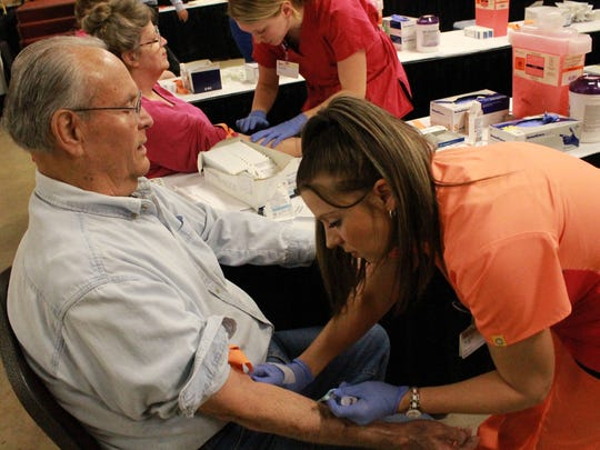 Hundreds of people and healthcare professionals come out each year to the Baxter County Fairgrounds for Baxter Regional Medical Center's annual Health Fair & Expo. Baxter Regional celebrates its 40th year of the event with programs on both Wednesday, April 24, and Thursday, April 25.