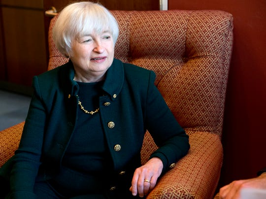 Janet Yellen Federal Reserve Board