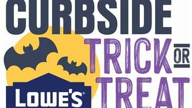 Beginning Saturday, Oct. 10, families can visit Lowes.com/DIY to reserve a spot for Lowe's Halloween experience at their local store, where they can drive up to receive candy and a small pumpkin at no cost to take home.