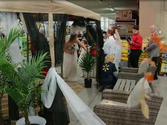 Walmart Wedding (2)