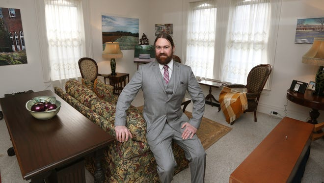 Mark Updegraff is a real estate broker who started his own company.