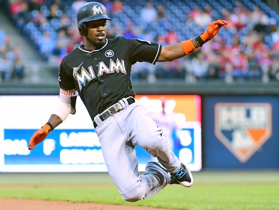 Dee Gordon will play center field and lead off for the Mariners.