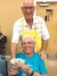 Penny Sampson of Mashpee, MA took home a pile of money