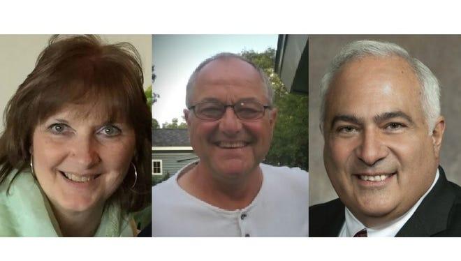 Democrat Nancy Stencil, left, Independent Michael Tauschek and Republican John Spiros ran to represent Assembly District 86.