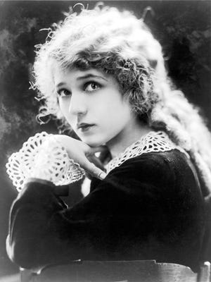 A portrait of actress Mary Pickford, by Campbell, circa 1919.