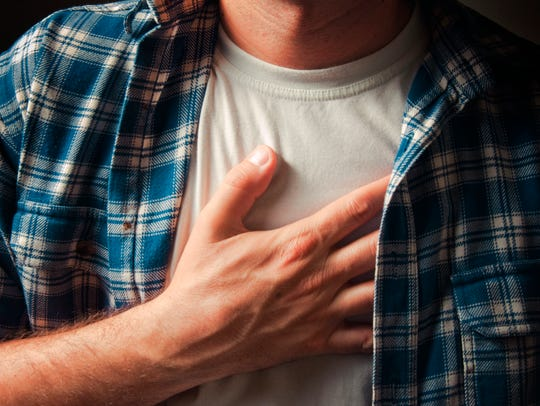 Ignoring issues such as chest pain can be dangerous.