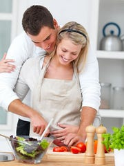 couple-cooking-appetizers